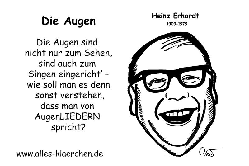 Zitate Heinz Erhardt